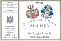 Saarburger Rausch Riesling Spätlese Nr.9 (fruchtsüß) 1999