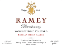 Russian River Chardonnay Woolsey Road 2012