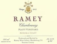 Sonoma Chardonnay Platt Vineyard 2012