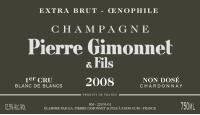 Champagne Extra Brut 1er Cru Oenophile non-dose  Flaschengärung 2008
