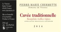 Beaujolais Cuvee Traditionnelle Vieilles Vignes