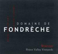 Cotes du Ventoux Domaine de Fondreche 2013