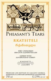 Pheasants Tears Rkatsiteli Rosé