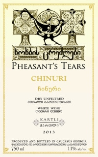 Pheasants Tears Chinuri Skin Contact (Orange Wine)