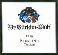 Dr. Bürklin Wolf Riesling trocken Gutswein 2014