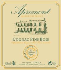 Cognac Fins Bois Apremont
