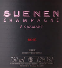 Suenen Rose Grand Cru Brut Flaschengärung