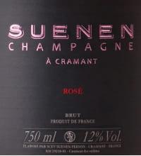 Suenen Rose Grand Cru Brut Flaschengärung