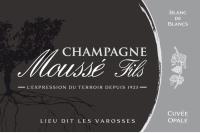 Champagner Cuvee Opale Blanc de Blancs Flaschengärung