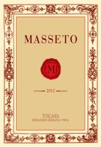 Masseto Merlot 2012