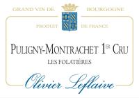 Puligny Montrachet 1er Cru Les Folatieres Domaine 2012