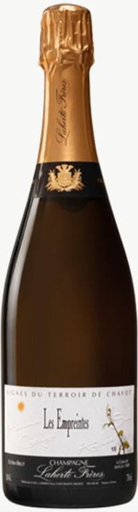 Champagne Les Empreintes Extra Brut  Flaschengärung