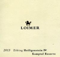 Zöbing Heiligenstein Riesling Kamptal Reserve 1ÖTW trocken 2013