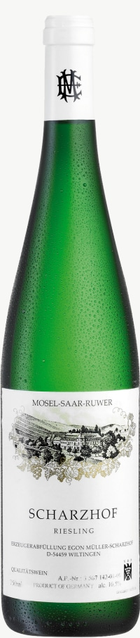 Scharzhof Riesling Qualitätswein feinherb (fruchtsüß) 2014