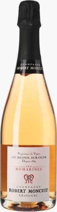 Champagne Les Romarines Rosé Grand Cru Flaschengärung