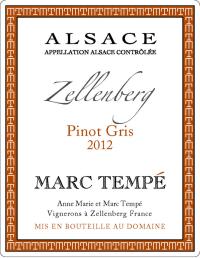 Pinot Gris Zellenberg 2012