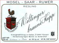 Le Gallais Wiltinger braune Kupp Auslese (fruchtsüß)