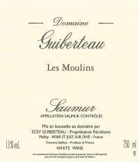 Saumur Blanc Les Moulins 2015