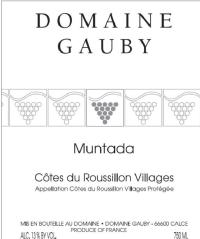 La Muntada Côtes du Roussillon Village rouge