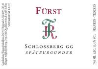 Spätburgunder Schlossberg Großes Gewächs 2013