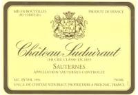 Chateau Suduiraut 1er Grand Cru Classe (fruchtsüß) 2015