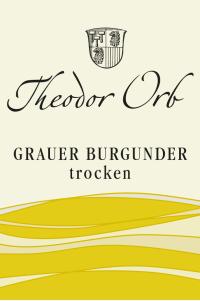 Grauer Burgunder trocken 2017