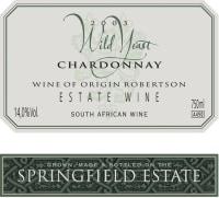 Wild Yeast Chardonnay 2018
