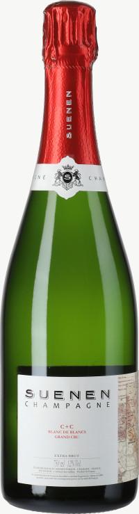Champagne C+C Blanc de Blancs Grand Cru Extra Brut Flaschengärung