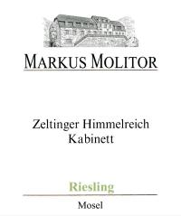 Riesling Zeltinger Himmelreich Kabinett Grüne Kapsel feinherb