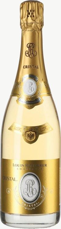 Champagne Cristal Flaschengärung