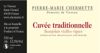 Beaujolais Origine Vieilles Vignes (Ehemals Cuvee Traditionnelle) 2016