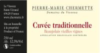 Beaujolais Cuvee Traditionnelle Vieilles Vignes 2015