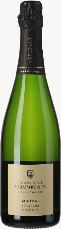 Champagne Extra Brut Mineral Blanc de Blancs Grand Cru Flaschengärung 2008