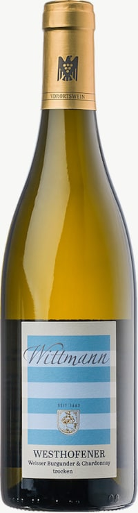 Westhofener Weißer Burgunder und Chardonnay trocken 2016