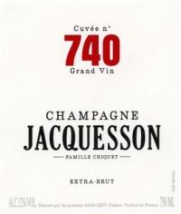 Champagne Cuvee 740 Flaschengärung