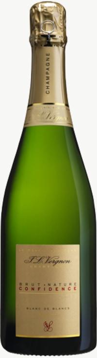 Champagne Confidence Brut Nature Blanc de Blancs Grand Cru Flaschengärung