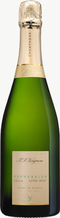 Champagne Expression Extra Brut Blanc de Blancs Grand Cru Flaschengärung