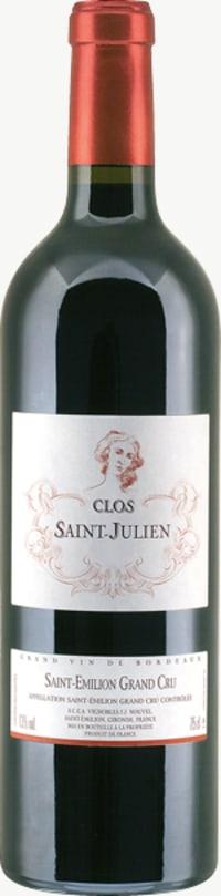 Chateau Clos Saint Julien Grand Cru 2010