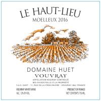 Vouvray Le Haut-Lieu Moelleux (fruchtsüß) 2016