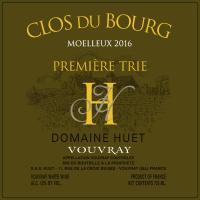 Vouvray Le Clos de Bourg Moelleux 1ere Trie (fruchtsüß) 2016