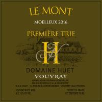 Vouvray Le Mont Moelleux 1ere Trie (fruchtsüß) 2016