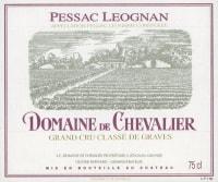 Chateau Domaine de Chevalier rouge 2009