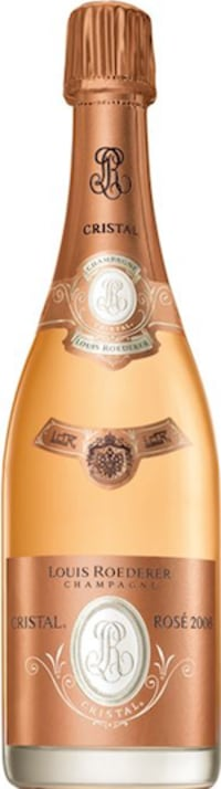Champagne Cristal rosé Flaschengärung