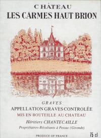 Chateau Carmes Haut Brion