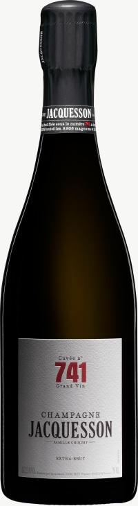 Champagne Cuvee 741 Flaschengärung