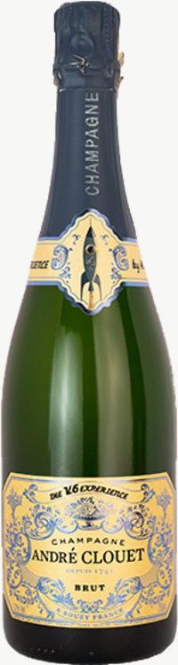Champagne V6 Expérience Flaschengärung