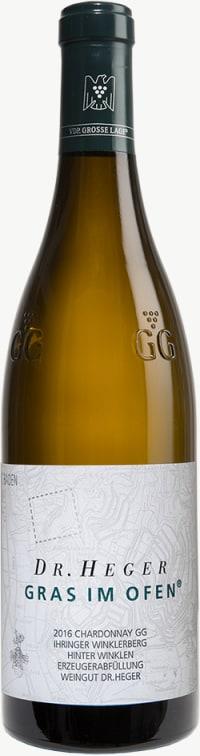 Chardonnay Winklerberg hinter Winklen Gras im Ofen Großes Gewächs 2016