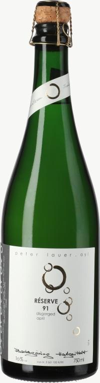 Saar Riesling Sekt brut Reserve Flaschengärung 1991