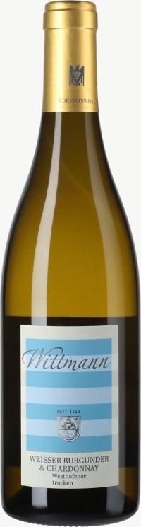 Westhofener Weißer Burgunder und Chardonnay trocken 2017