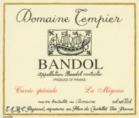 Bandol Rouge Cuvee La Migoua